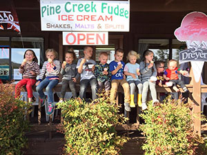 Pine Creek Fudge